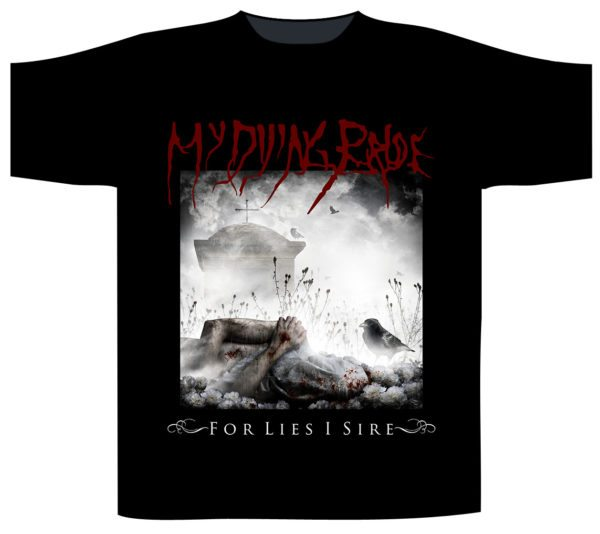 My Dying Bride Shortsleeve T-Shirt For Lies I Sire