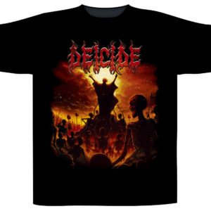 Deicide Shortsleeve T-Shirt To Hell With God
