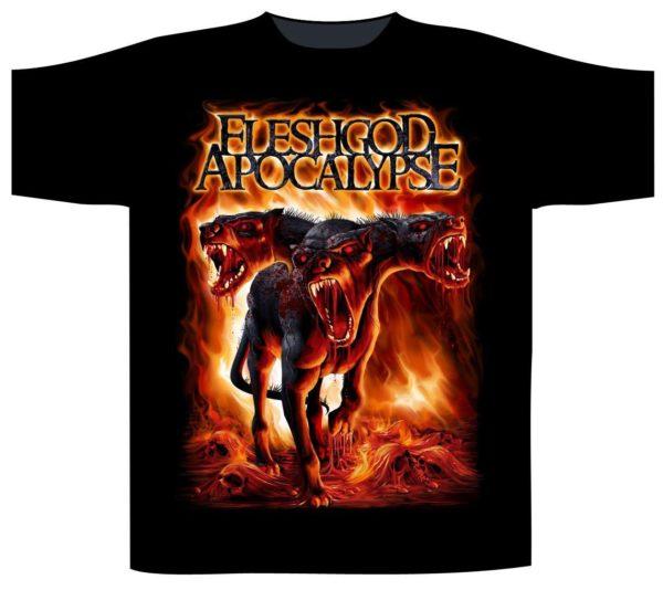 Fleshgod Apocalypse Shortsleeve T-Shirt Cerberus