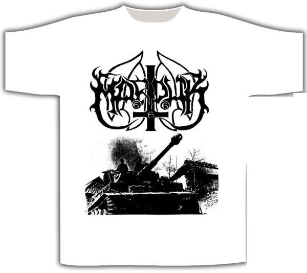 Marduk T-Shirt Panzer / White