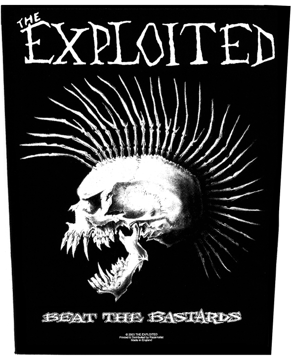 The Exploited Backpatch Beat The Bastards