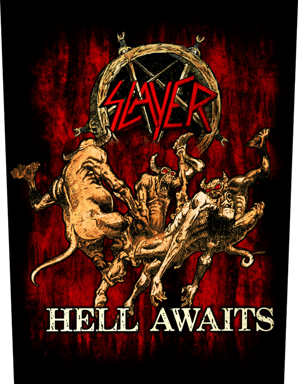 Slayer Backpatch Hell Awaits