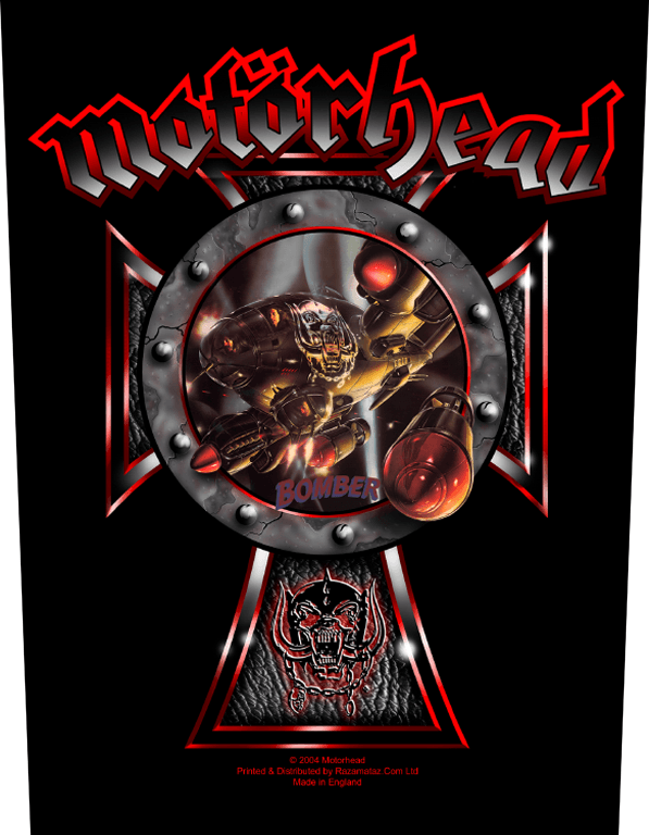 Motorhead Backpatch Bomber