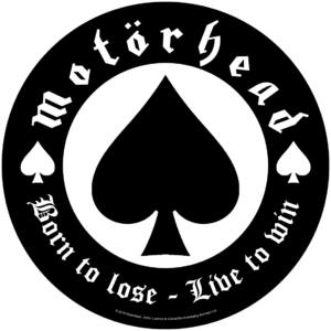 Motorhead Backpatch Born To Lose