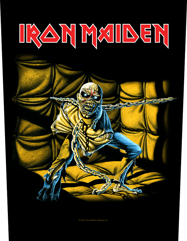 Back Patch Iron Maiden The Final