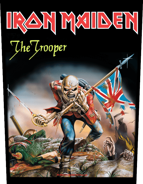 Iron Maiden Backpatch The Trooper