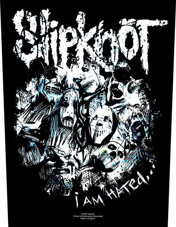 Slipknot Backpatch I Am Hated