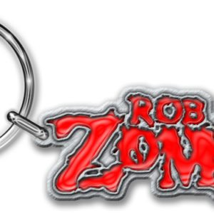 Rob Zombie Keyring Logo