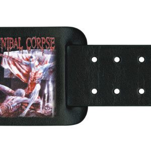 Cannibal Corpse Leather Wristband Tomb