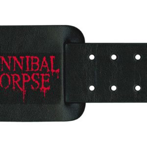 Cannibal Corpse Leather Wristband Logo
