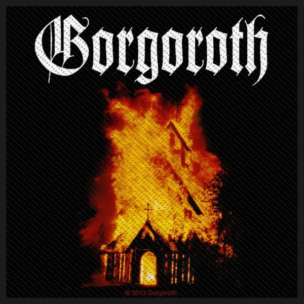Gorgoroth Woven Patch Church